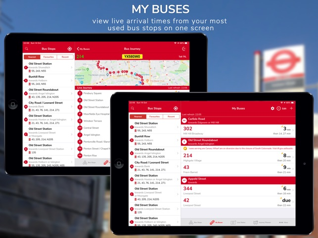 London Live Bus Countdown on the App Store
