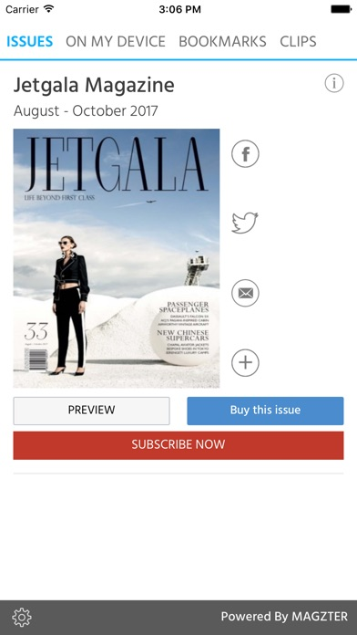 Jetgala Magazine screenshot 1