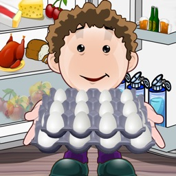 Clean the fridge in the kitchen - a family task game - Free Edition
