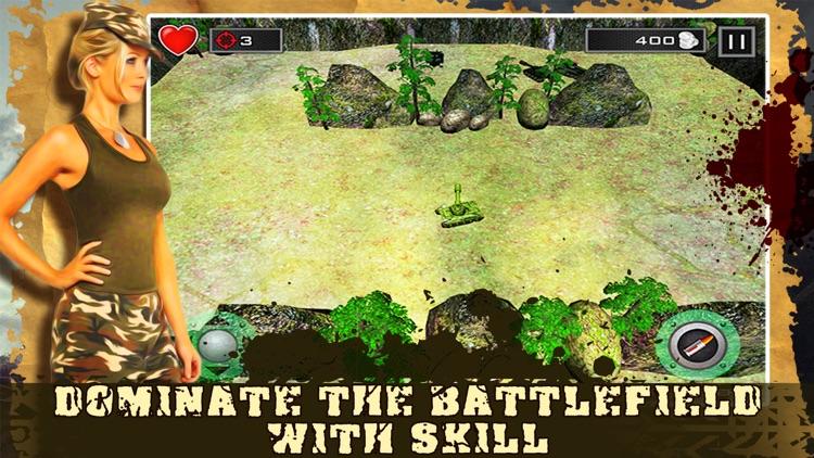 Mini Tank Battle City screenshot-3