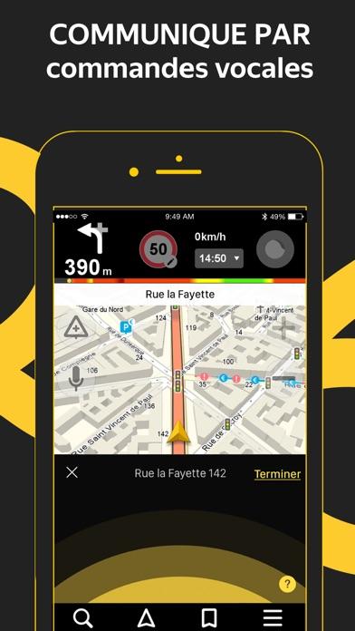 Screenshot for Yandex.Navi – Île-de-France in Lebanon App Store