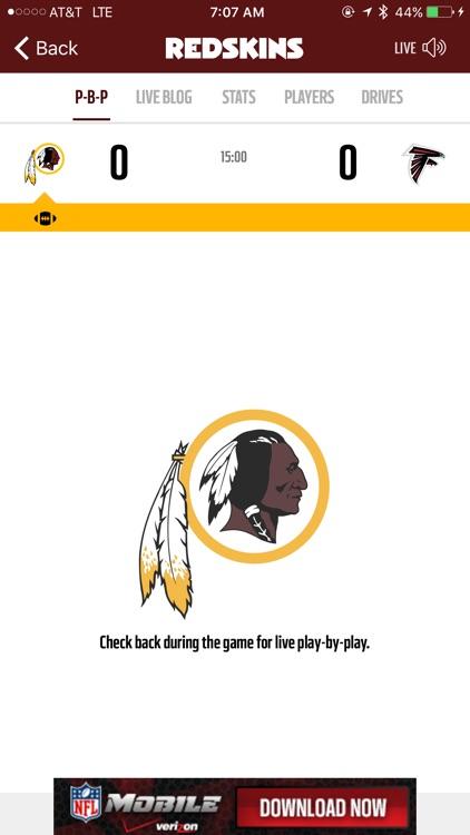 Washington Redskins screenshot-3