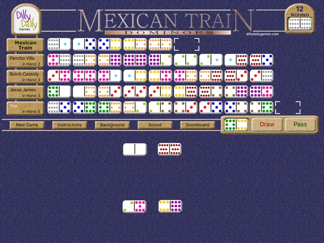 Mexican Train Dominoes Deluxe On The App Store