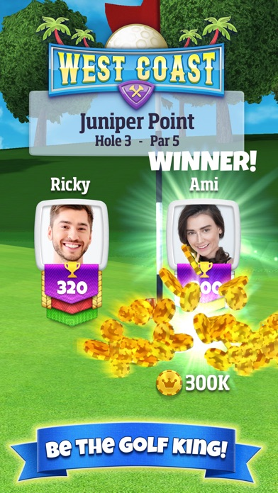 Screenshot of Golf Clash App
