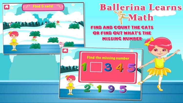 Ballerina Math Mania screenshot-3