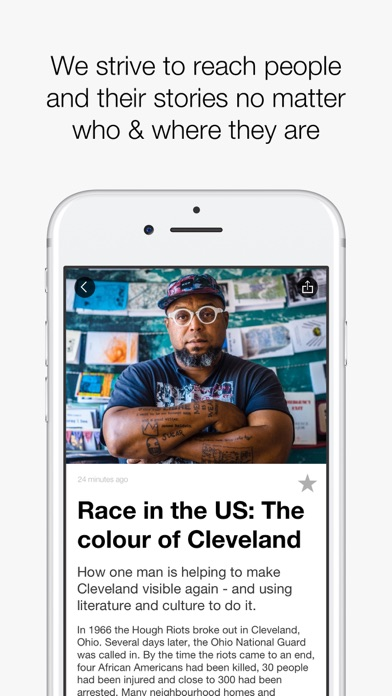 Screenshot 4 for Al Jazeera's iPhone app'