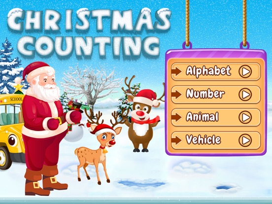 Santa Run - Learning FlashCard screenshot 7