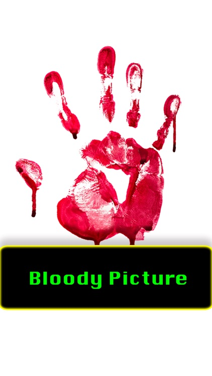 Bloody Picture - photo edit fx