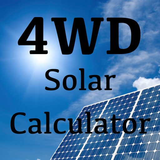 4WD Solar Calculator