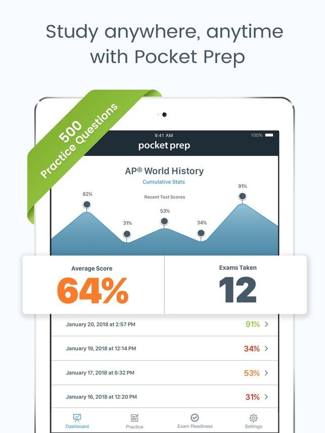 Ap World History Pocket Prep On The App Store