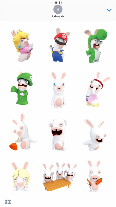 Rabbids Stickers screenshot 2