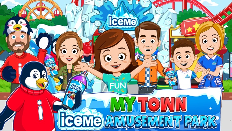My Town : ICEME Amusement Park screenshot-0