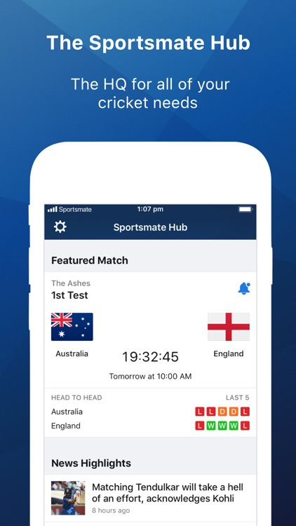 Cricket Live by Sportsmate