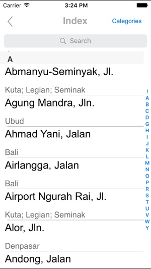 Bali Road map on the App Store