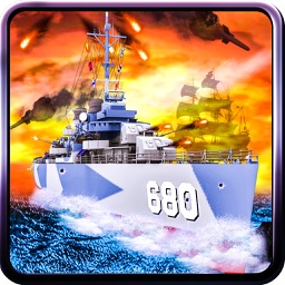 Caribbean Naval Fleet Hit Pirate Ships - 3D War