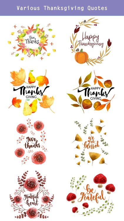 Thanksgiving Watercolor Pack screenshot-2
