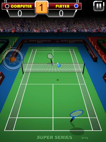 Badminton Game 3D - náhled