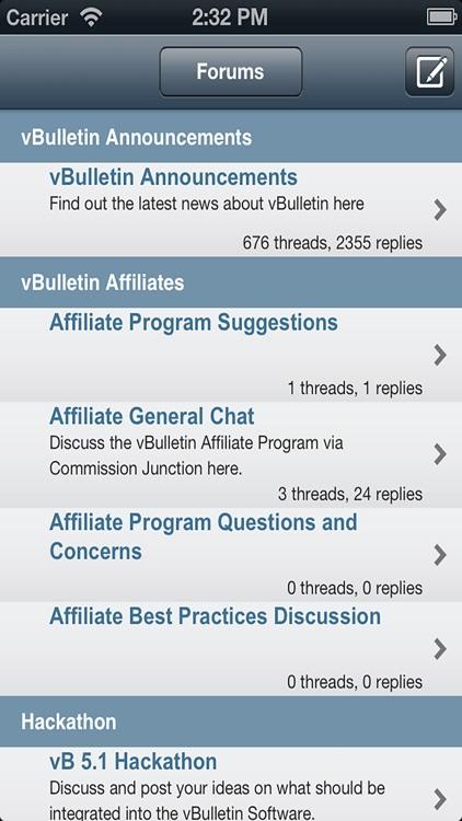 Vbulletin For Mobile