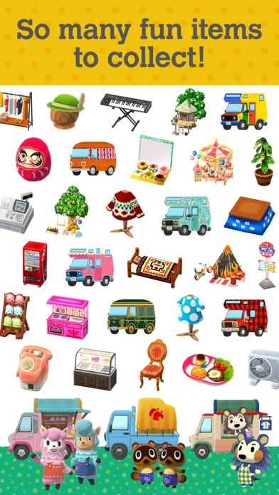 Screenshot of Animal Crossing: Pocket Camp App
