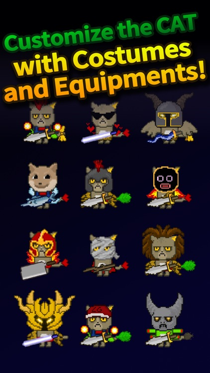Cat Tower - Idle RPG screenshot-0