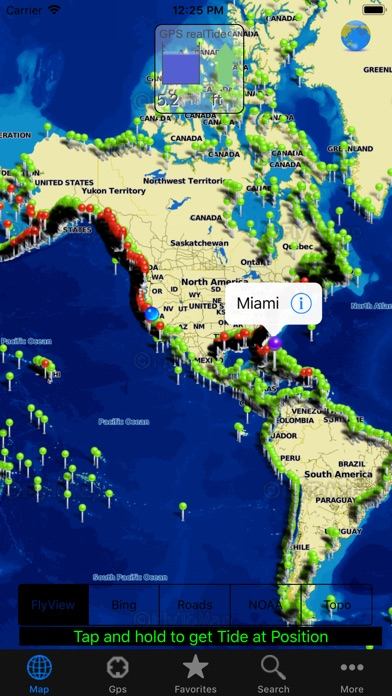 Screenshot for real tides gps in United States App Store