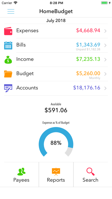 download HomeBudget with Sync apps 3