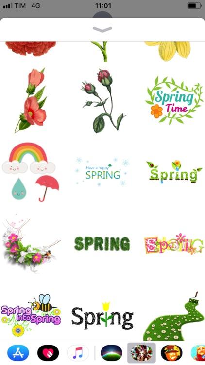 Dream of Spring - Sticker Pack screenshot-3
