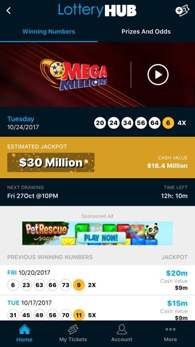 Lotteryhub review screenshots