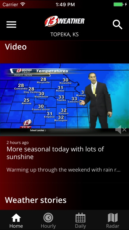 WIBW 13 Weather app screenshot-1