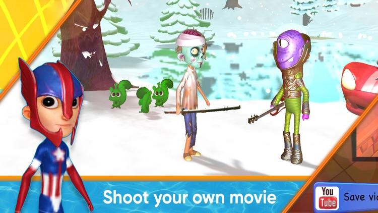 MovieToons - 3D cartoon maker! screenshot-3
