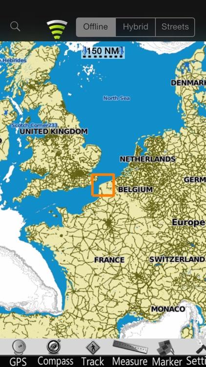 Nord Pas de Calais GPS Charts screenshot-4
