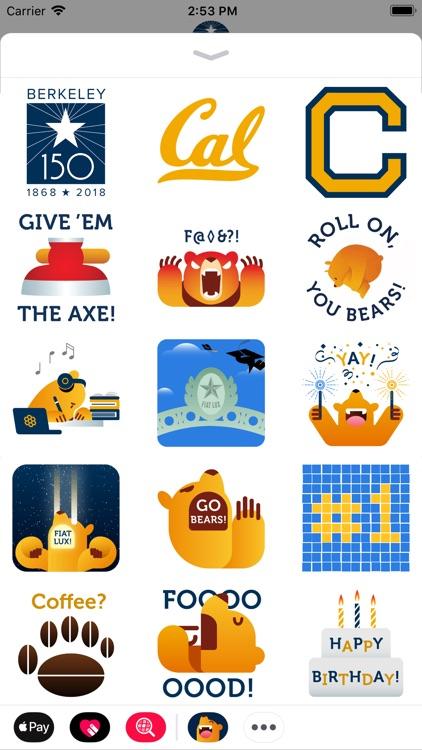 Cal Bears Stickers