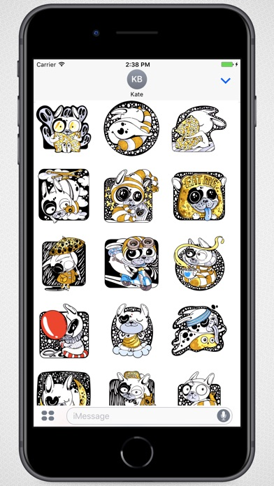 Screenshot for Creative Art Dog Stickers in Colombia App Store