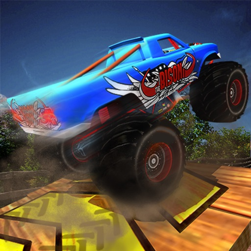 Monster Truck Stunts: Offroad Edition iOS App