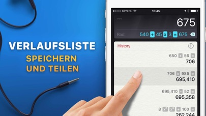 Screenshot for Rechner HD in Switzerland App Store