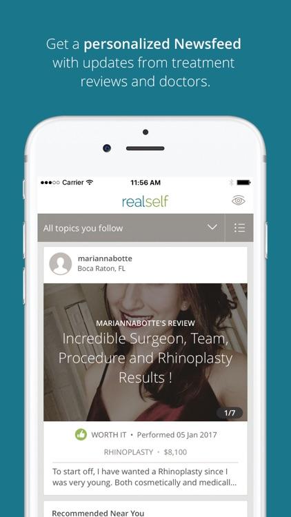 RealSelf – Cosmetic Treatments, Doctors, Reviews screenshot-4
