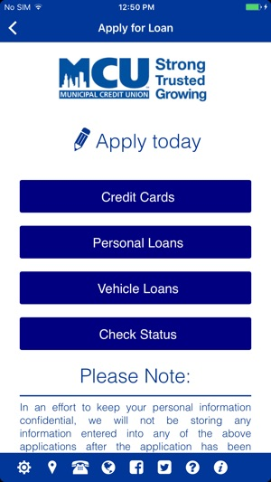 Mcu Credit Union >> Nymcu Mobile Banking On The App Store