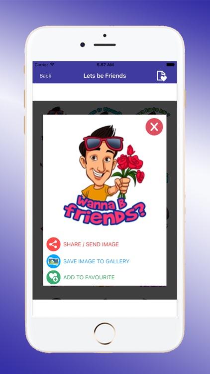 Fast Talk Stickers screenshot-3