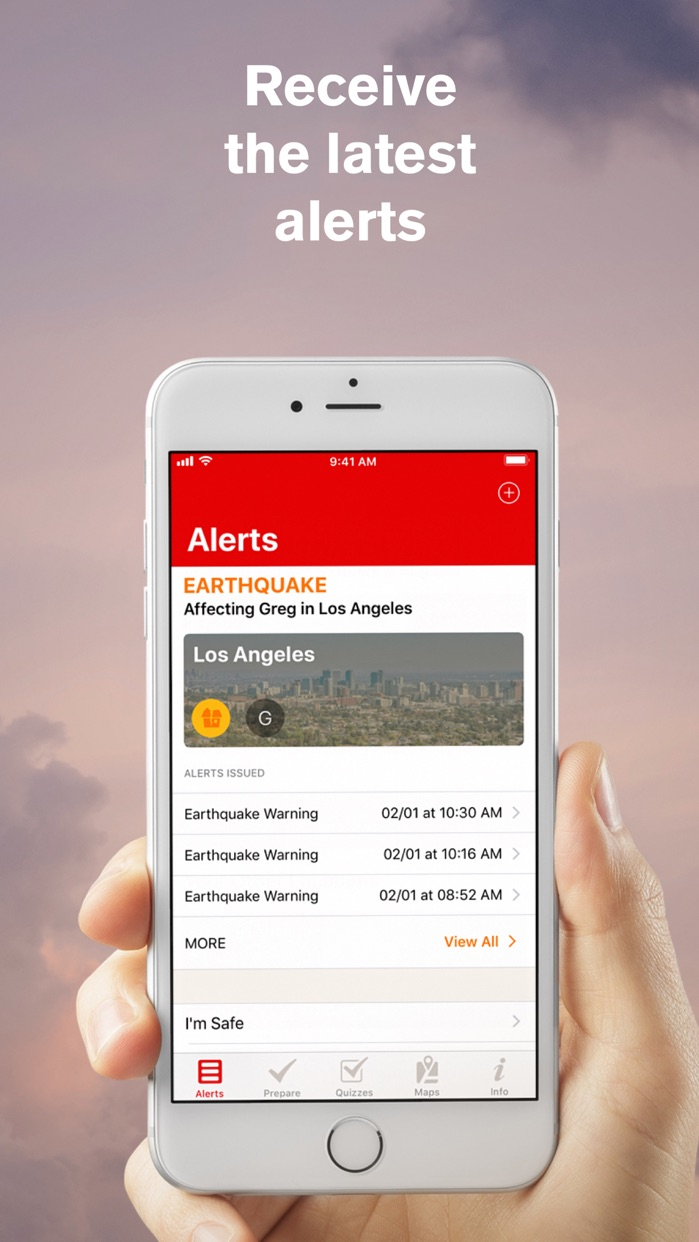 Earthquake: American Red Cross Screenshot