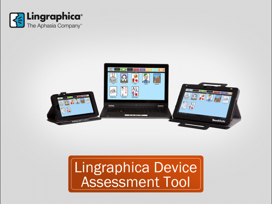 Lingraphica Device Assessment screenshot two