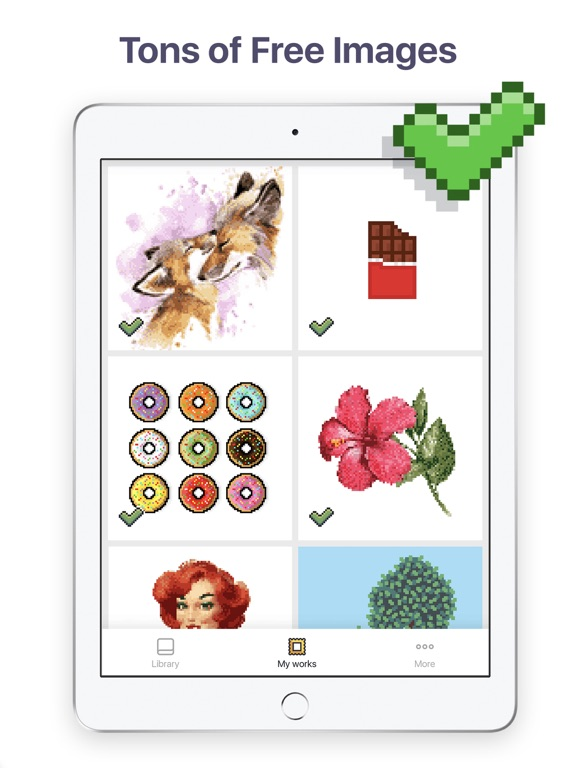 Pixel Art - Color by Number screenshot 7