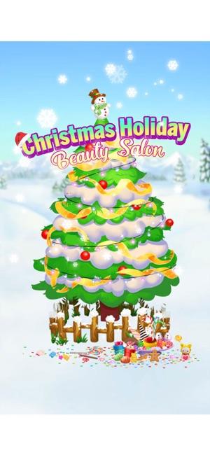 Christmas Beauty Salon.Christmas Holiday Beauty Salon On The App Store