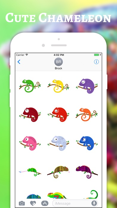 download Chameleon Color Stickers apps 0