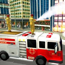 Firefighter 911 Rescue Truck