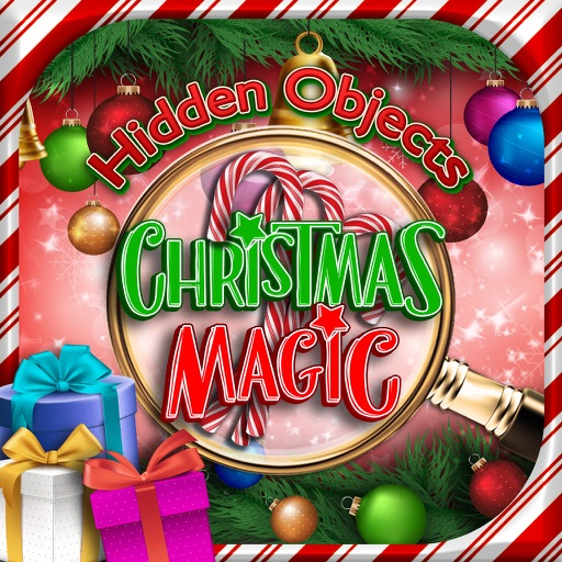 Hidden Objects Christmas Magic Winter Holiday Time