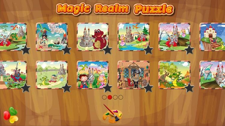 Magic Realm: Kids Puzzle Games screenshot-4