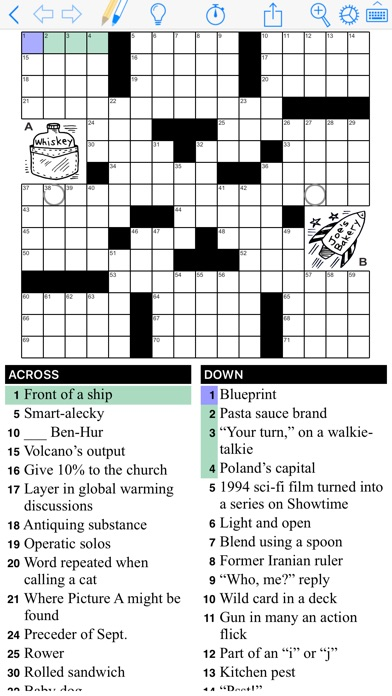 Puzzazz Crossword & Puzzle iPhone