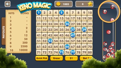 Keno Magic screenshot one