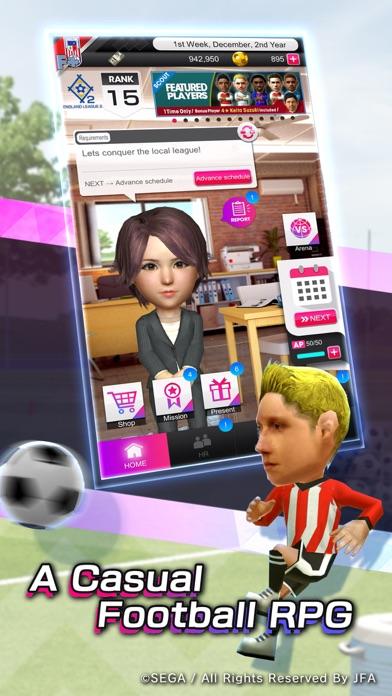 SEGA POCKET CLUB MANAGER Screenshot on iOS