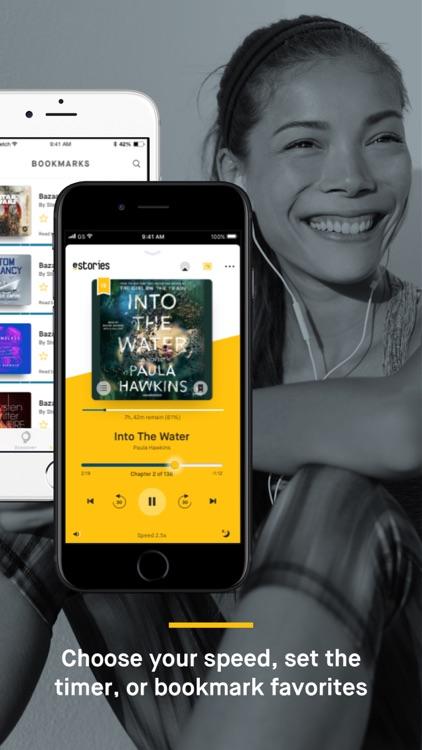 Audiobooks from eStories screenshot-3